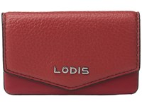 Lodis Kate Maya Card Case Red Credit Card Wallet