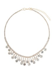 Mikey Drop Crystal Linked Crystals Necklace