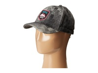 Pistil Frankie Charcoal Caps Gray