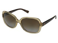 Michael Kors Isle Of Skye Glossy Brown Tortoise Brown Gradient Polarized Fashion Sunglasses