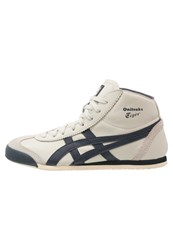 Onitsuka Tiger By Asics Onitsuka Tiger Mexico Mid Runner Hightop Trainers Birch Indian Ink Sand