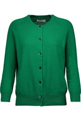 Etoile Isabel Marant Kalibo Cotton And Wool Blend Cardigan Dark Green