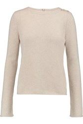 Goat Cashmere Sweater White