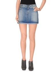 Jfour Denim Denim Skirts Women Blue