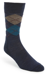 Smartwool 'Diamond Jim' Socks Navy Sea Heather