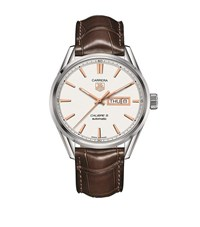 Tag Heuer Carrera Calibre 5 Quartz Watch Unisex Ivory