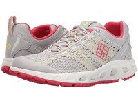 Columbia Drainmaker Iii Oyster Tango Pink Women's Shoes Gray
