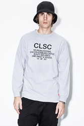 Clsc Athletic Heather Tabs L S T Shirt