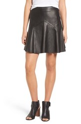 Joe's Jeans Women's Navena Lambskin Leather Skirt