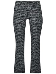French Connection Canyon Sands Trousers Tribal Green Multi