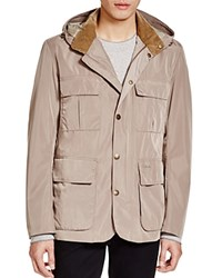 Barbour Thurso Hooded Jacket Military Stone