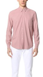 Our Legacy Classic Silk Shirt Duo Pink