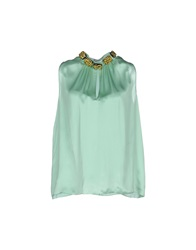 Moschino Cheap And Chic Moschino Cheapandchic Tops Light Green