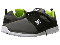 Dc Heathrow Grey Black Green Skate Shoes Multi