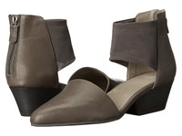 Eileen Fisher Fame Ash Leather Women's 1 2 Inch Heel Shoes Taupe