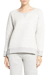 Daniel Buchler Women's Quilted Cotton Pullover