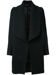 Martin Grant Oversized Coat Black