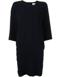 Gianluca Capannolo Mid Length Shift Dress Black