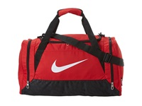 Nike Brasilia 6 Small Duffel Gym Red Black White Duffel Bags