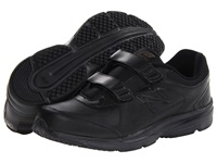 New Balance Mw411 Hook And Loop Black 2 Men's Walking Shoes