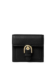 Michael Michael Kors Leather Mini Wallet Black