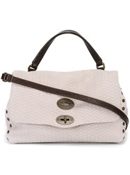 Zanellato Textured Satchel Nude And Neutrals
