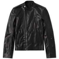 Rick Owens Cyclops Leather Jacket Black