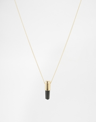 Love Bullets Lovebullets Crystal Necklace Gold