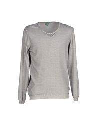 Officina 36 Sweaters Light Grey