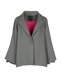 Ivan Montesi Suits And Jackets Blazers Women Military Green
