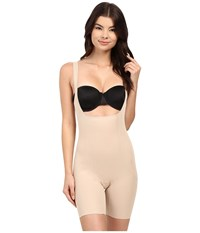 Miraclesuit Back Magic Extra Firm Torsette Thigh Slimmer Nude Women's Underwear Beige