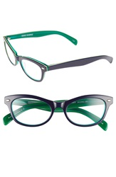 Corinne Mccormack 'Audrey' 50Mm Reading Glasses Blue Green