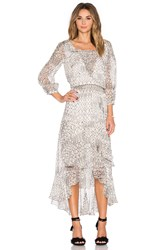 Twelfth St. By Cynthia Vincent Multiple Strapping Dress Ivory