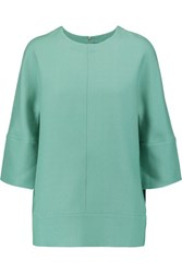 Marni Wool And Silk Blend Top Mint