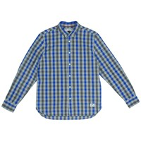 Penfield Wadcrest Long Sleeve Check Shirt Blue