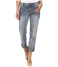 Jag Jeans Alex Boyfriend Platinum Denim In Saginaw Blue Saginaw Blue Women's