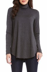 Karen Kane Women's Long Sleeve Turtleneck Tee