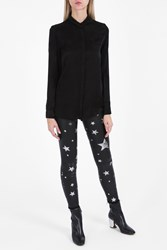 Rta Denim Celeste Star Shirt Black