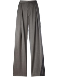 A.F.Vandevorst 'Party' Palazzo Trousers Grey