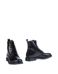 Cult Ankle Boots Dark Blue