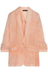 Elizabeth And James Jamie Ramie Voile Blazer