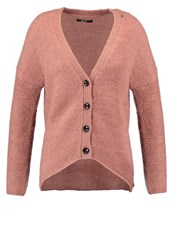 Replay Cardigan Pink Mauve