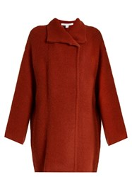 Diane Von Furstenberg Avril Cardigan Dark Orange