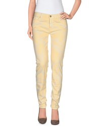 7 For All Mankind Trousers Casual Trousers Women Beige