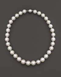 Bloomingdale's White South Sea Cultured Pearl Necklace In 14K White Gold 18