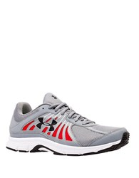 Under Armour Dash Running Shoes Steel White