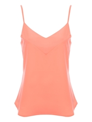 Jane Norman Low V Camisole Top Pink