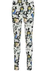 Opening Ceremony Printed Mid Rise Skinny Jeans