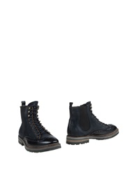 Barracuda Ankle Boots Black