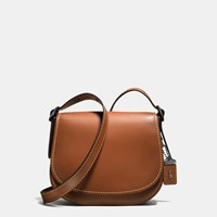 Coach Saddle Bag 23 In Glovetanned Leather Brown